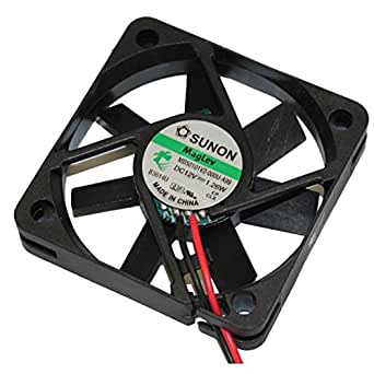 Fan / Ventilateur 12V 1,26W 50x50x10mm 18,6m³/h 26dBA ; Sunon MB50101V2-A99
