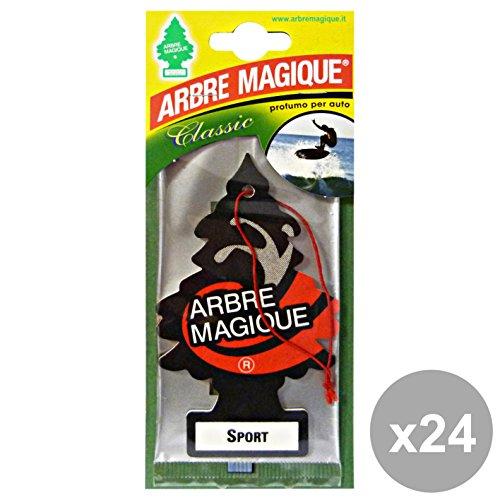 Set 24 ARBRE MAGIQUE Deodorante Sport Accessori auto e moto