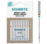 SCHMETZ Nähmaschinennadel 130/705 H-SUK | 10 Jersey-Nadeln | Nadeldicke:...
