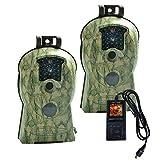 Loveseye Wildkamera mit bewegungsmelder nachtsicht 14MP 1080P Jagdkamera Beutekameras mit 940nm IR LED's Sensoren Nachtsicht 70ft/21m IP65 wasserdicht für Outdoor-Natur Garten