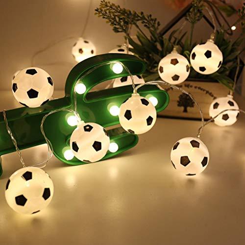 LEDMOMO - Guirnalda luces LED forma balón fútbol