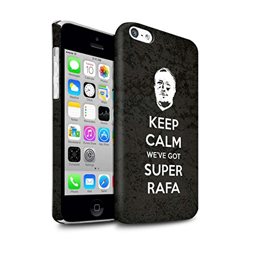 Offiziell Newcastle United FC Hülle / Matte Snap-On Case für Apple iPhone 5C / Pack 8pcs Muster / NUFC Rafa Benítez Kollektion Ruhig Bleiben