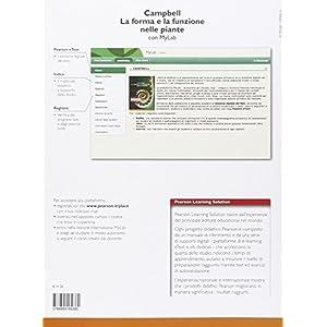 Campbell. La forma e la funzione nelle piante. Ediz. mylab. Con espansione online