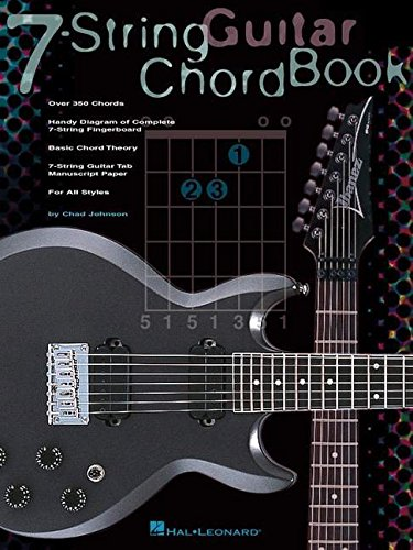 7 - string guitar chord book guitare