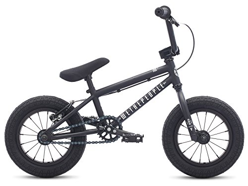 WETHEPEOPLE PRIME 12 2017 BMX   RUEDA DE 12 PULGADAS | MATE BLACK | COLOR NEGRO MATE