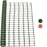 Woodside - Kunststoff-Hühnerzaun - Maschengewebe - Grün - 1 x 25 m (H x L)