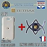Tetrax t11210/W Bundle Smart XCASE Coque pour Samsung Galaxy Note 2Blanc