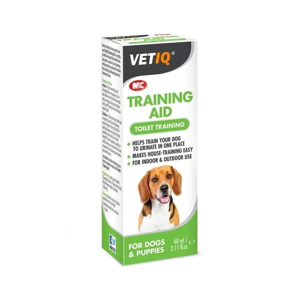 VetIQ Toilet Training Aid for Dogs & Puppies x Size: 60 Ml 1