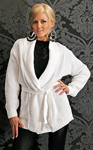 THAT´S IT! - Gilet - Femme Taille unique Weiß