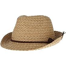 La vogue Sombrero de Paja Niño para Verano Playa Viajar Talla Única a2ea575a06c