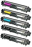 Prestige Cartridge TN-241 TN-245 5-er Set Toner kompatibel für Brother DCP-9015CDW DCP-9020CDW HL-3140CW HL-3142CW HL-3150CDW HL-3152CDW HL-3170CDW MFC-9130CW MFC-9140CDN MFC-9330CDW MFC-9340CDW