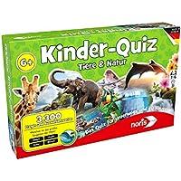 """Noris Spiele 606011629 - """"Kinderquiz Tiere & Natur"""" Kinderspiel"""