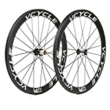 Best Carbon Wheels - VCYCLE 700C Carbon Racing Road Bike Wheelset 50mm Review