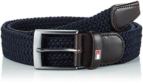 Tommy Hilfiger Adan Belt, Cintura Uomo, Blu (Midnight 403), 90 (Taglia Produttore:90)