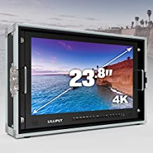 'Lilliput 23 inch bm230 – 4 K 3840 x 2160 Resolution Full HD Broadcast Ultra HD 4 K Field Monitor Film Director 4 K Field Camera Cámara quemador Monitor de la pantalla with 3 G SDI HDMI DVI VGA Tally + Hood...