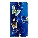 Schutzhülle für Xiaomi Redmi Note 8 Pro, stoßfest, PU-Leder Flip Notebook Slim Fit Wallet Case mit Magnetverschluss Ständer Kartenfächer Ausweishalter Folio Soft TPU Bumper Schutzhülle Skin Cover Cover