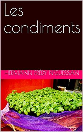Couverture du livre Les condiments
