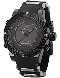 Shark SH165+ZC155 - Reloj para hombres, correa de silicona
