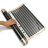 One Quadratmeter Fußbodenheizung Film kein Zubehör 220V Far Infrarot-Film 50cm x 2m Werkzeug-Teile