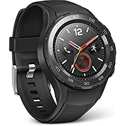 Huawei 55021666 Smartwatch 2 (4G/LTE, 4 GB ROM, Android Wear, Bluetooth, WiFi) Carbon Negro Sport Strap