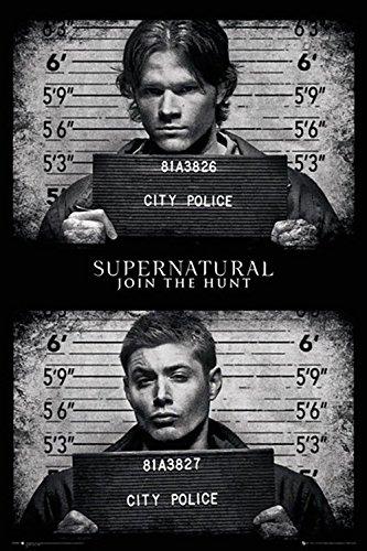 Supernatural Maxi Poster Mug Shots 61 x 91,5 cm Laminato