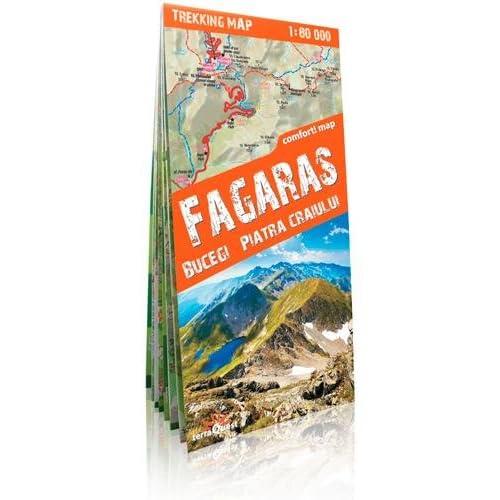 FAGARAS, BUCEGI, PIATRA CRAIULUI 1/80.000