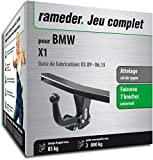 Rameder Attelage démontable avec Outil pour BMW X1 + Faisceau 7 Broches (150358-08277-1-FR)