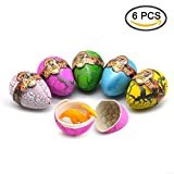 #9: Lifestyle-You 6 Pcs Large Size Magic Hatching Dinosaur Eggs (8 x 5 Cm). Growing Pets. Unique gift for Children. Birthday Return Gift. Kids Toy.