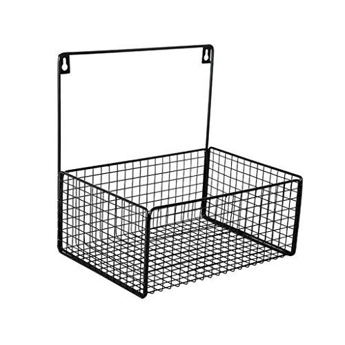 CHX Badezimmer-Regal-Badezimmer-Eisen-Kunst-Wand-Berg-Durchschlag-Freie Ablagekorb-Speicher-Wand CHXSF (Badezimmer-speicher-körbe)