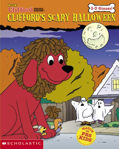 Clifford's Scary Halloween (Clifford the Big Red Dog (Prebound)) (Halloween Dog Red Clifford Big)
