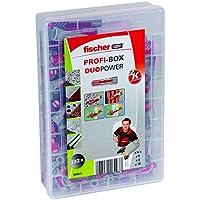 Fischer - Caja de tacos y tornillos - juego profesional, 538621