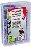 Fischer 538621 Profi-Box Duopower Universaldübel, Dübelset, 132 Teile