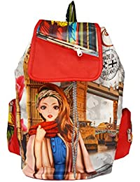 Typify Printed Casual Purse Fashion School Leather Backpack Shoulder Bag Mini Backpack Girls & Women's Bag