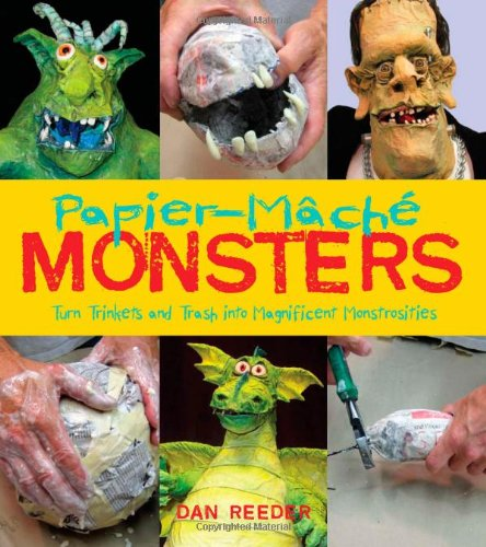 papiermache-monsters