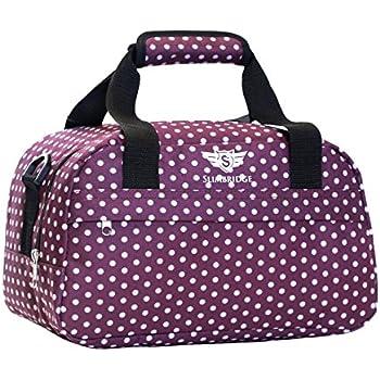 Femmes en nylon Crossbody Weekender fourre-tout Voyage Duffel Bag Sac à bandoulière Bagage Gym Purse pour voyager hZdjAjNG