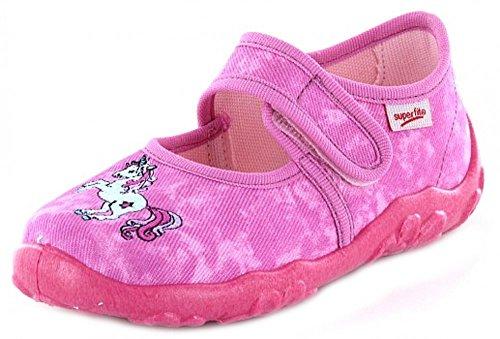 Legero  0-00282-64 5, Chaussons pour fille Pink Kombi