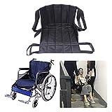 Patientenlift Treppe Rutschbrett Transfer, Notfall Evakuierungsstuhl Rollstuhlgurt Sicherheit, medizinische Hebeschlinge Schiebe Transferscheibe Verwendung für Senioren, Behinderung