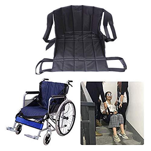 Patientenlift Treppe Rutschbrett Transfer, Notfall Evakuierungsstuhl Rollstuhlgurt Sicherheit, medizinische Hebeschlinge Schiebe Transferscheibe Verwendung für Senioren, Behinderung - Transfer Den Rutschbrett Für