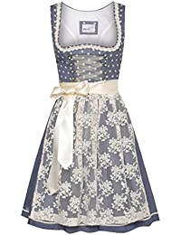 Marjo Trachten Mini Dirndl Berry in Blau