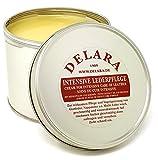 DELARA Intensive Lederpflege, farblos, 500 ml - Imprägniert und schützt Leder sehr wirksam Rezeptur mit hochwertigem Kokosöl und Bienenwachs - Made in Germany