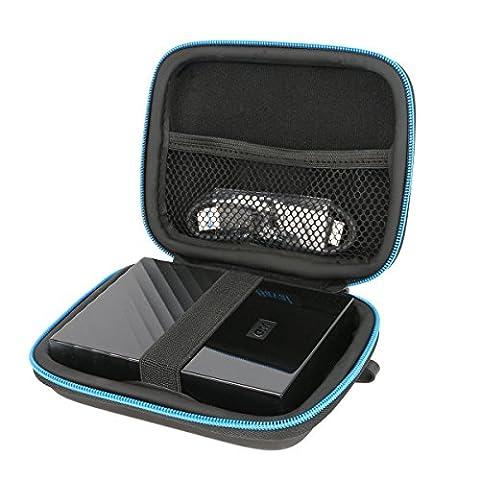 Für WD My Passport 2TB 3TB 4TB /Seagate Expansion Portable 2 TB 3Tb 4Tb externe tragbare Festplatte Tasche Tragetasche von