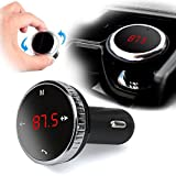 Wireless-Bluetooth-LCD FM Transmitter Modulator Car Kit MP3 Player SD w/Remote