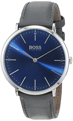 Hugo BOSS Homme Analogique Classique Quartz Montre avec Bracelet en Cuir 1513539