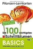 Pflanzen-Lernkarten: Die 100 wichtigsten Schnittblumen Vol. I: 100 Lernkarten mit Lernkartenbox - Karl-Michael Haake