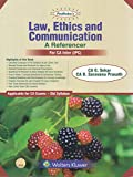 PADHUKA'S LAW ETHICS AND COMMUNICATION- AREFERENCER (FOR CA IPCC), 13ED