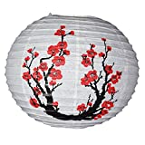 "PaperLanternStore.com 16"" Japanese Plum Tree II Paper Lantern"
