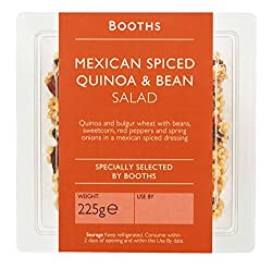 Booths Mexican Spiced Quinoa & Bean Salad, 225 G
