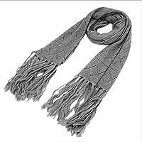 Xiaoyu scarf Bufanda otoño e Invierno Moda Hombres y Mujeres Bufanda algodón Bufanda Caliente (Color : A)