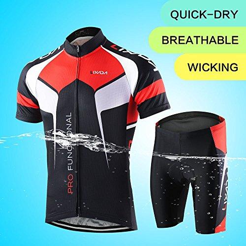 Zoom IMG-3 lixada abbigliamento ciclismo uomo asciugatura
