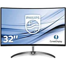 "Philips Monitores 328E8QJAB5/00 - Monitor de 32"" (resolución 1920 x 1080 pixeles, LED, 5 ms, 250 cd/m²) color negro y gris"